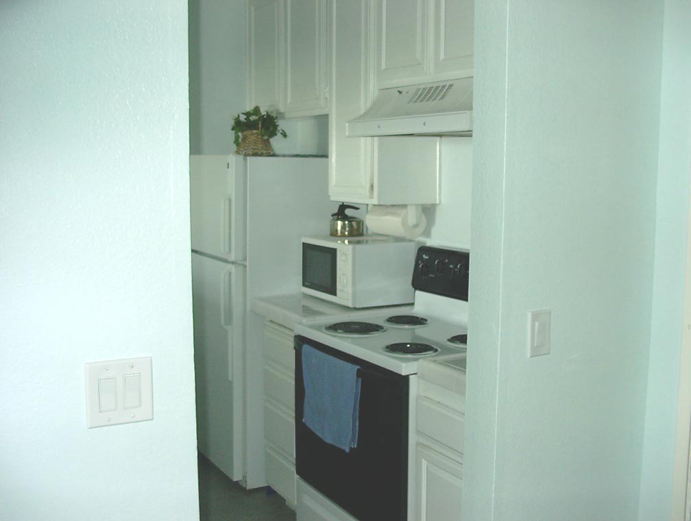 Beach Rental,one of two kitchen photos, click to view