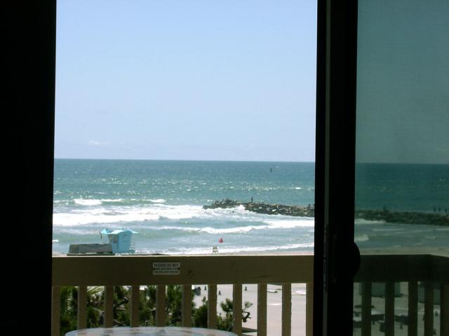 Vacation Condo North Coast Village rental inside ocean view when you enter; click to enlarge